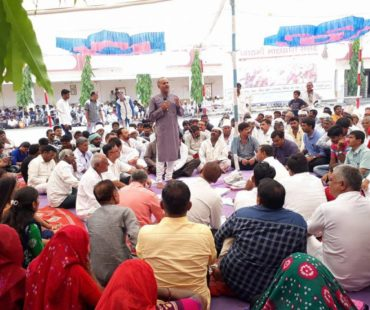 Dashrath Charakta Speaking on Issues of Urban Maldhari-