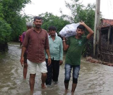 Relief Work by MARAG teams - Gujarat Flood 2017 - MARAG